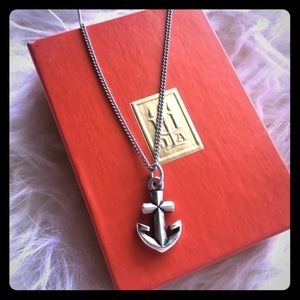 James Avery Sterling Silver Charm and Necklace